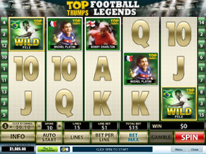 Top Trumps Football Legends screenshot