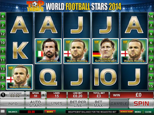 Top Trumps World Football Stars screenshot